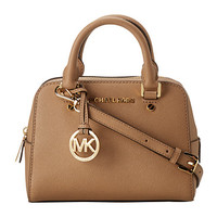 MICHAEL Michael Kors Jet Set Travel Sm Satchel Dark Khaki - Zappos.com Free Shipping BOTH Ways