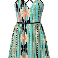 Tribal Strap Dress