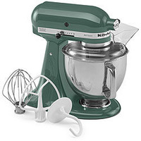 ShopKitchenAid: KitchenAid 5-Quart Tilt-Head Artisan Series Stand Mixer KSM150PSER