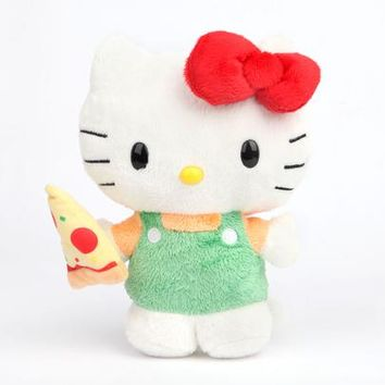 Hello Kitty Reversible Plush: Pizza