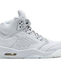 "AIR JORDAN 5 RETRO PREM ""PURE PLATINUM""BASKETBALL SNEAKER"