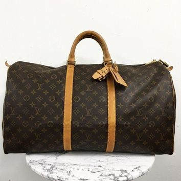 ONETOW Louis Vuitton ¡®Keepall 55¡¯ Luggage