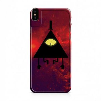 Bill Cipher Red Cloud iPhone X case