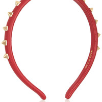 Valentino | Studded leather headband