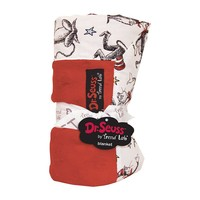 Dr. Seuss ''The Cat in the Hat'' Receiving Blanket by Trend Lab (Red)