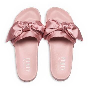 FENTY Puma x Rihanna Women's Satin Bandana Pool Slide Sandals | Bloomingdales's