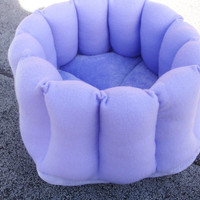 Cat bed, dog bed, purple bed, pet bed, kitty bed, deep pet bed, lavender, purple cat bed, purple dog bed