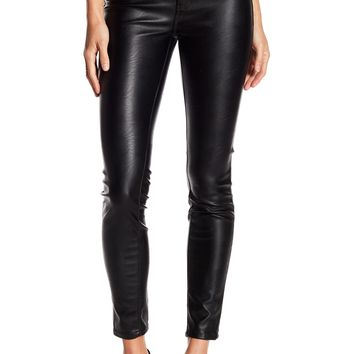 BLANKNYC Denim | Vegan Faux Leather 5 Pocket Skinny Jeans | Nordstrom Rack