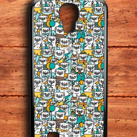 Pug Pattern Samsung Galaxy S4 Case