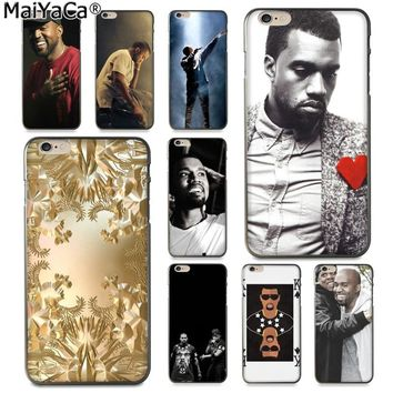 MaiYaCa Jay Z Kanye West Watch the throne New Arrival Fashion phone case for Apple iPhone 8 7 6 6S Plus X 5 5S SE XS XR XS MAX