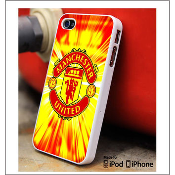 Manchester United Red Light iPhone 4s iPhone 5 iPhone 5s iPhone 6 case, Galaxy S3 Galaxy S4 Galaxy S5 Note 3 Note 4 case, iPod 4 5 Case
