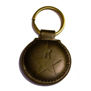 HAMILTON Leather Keychain - Souvenirs