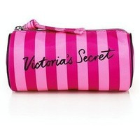 "Victoria's Secret Small Cosmetic Bag Round 5"" x 2.5"" For Small items"
