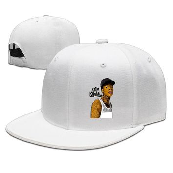 Cool Wiz Khalifa DeviantArt Poster Cotton Unisex Adult Womens Baseball Hats Mens Hip-hop Hat