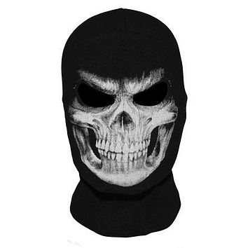 New The Grim Reaper Mask Skull Ghost Death Balaclava Airsoft Tactical Costume Army Paintball Halloween Full Face Mask