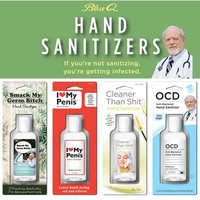Blue Q Hand Sanitizer More Styles Available