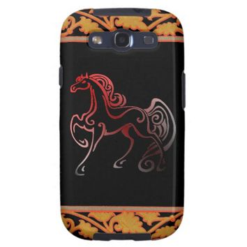 Horse Tails Galaxy S3 Case