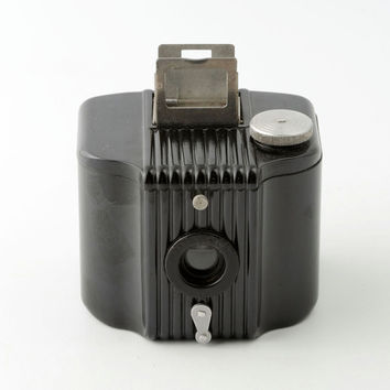 Kodak Baby Brownie 127 Roll Film Bakelite Camera with Instructions - Working 1930s
