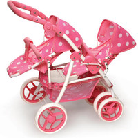 Reversible Double Doll Stroller