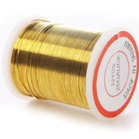 26 Gauge Gold Bead Crafting Wire for Jewelry Making, Crafting, Creating- 4 Spools of 22 Yards for 88 Total Yards