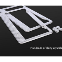 Crystal License Plate Frame
