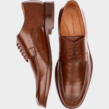 BOSTONIAN ALGONQUIN BROWN BLUCHER DRESS SHOES
