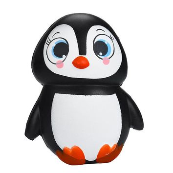 Cute Squishy Penguins 13cm Squishy Slow Rising Kawaii Squeeze Toy Anti Stress Squishy Fun Kids Adult Toy Stress Reliever Decor