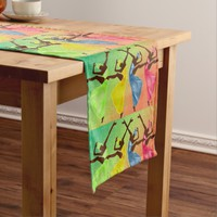 The Gift of Dance Graphic Pattern Short Table Runner