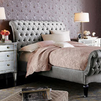Old Hollywood Bedroom - Shop Our Bedrooms - Bedroom - Furniture - Horchow