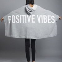 Positive Vibes Poncho
