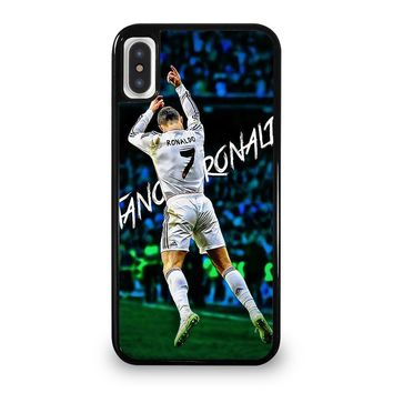 REAL MADRID RONALDO CR7 CELEBRATION iPhone 5/5S/SE 5C 6/6S 7 8 Plus X/XS Max XR Case Cover
