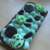 Polymer Clay Mini Food and Sweets Custom Kawaii Sweets Deco Decoden Phone Case