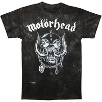 Motorhead Men's  Flat Warpig Tie Dye T-shirt Gray