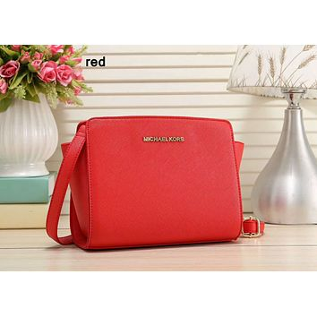 MK MICHAEL KORS Counter Women's Fashionable High-Quality Shoulder Bag F-LLBPFSH red