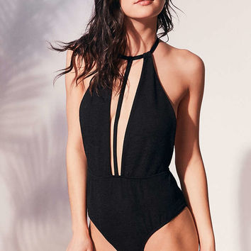 Motel X UO Laguna T-Front One-Piece Swimsuit - Urban Outfitters