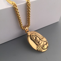 Shiny New Arrival Gift Jewelry Stylish Hot Sale Fashion Hip-hop Club Necklace [6542784515]