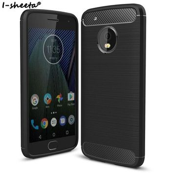 I-sheeta Soft Silicone Case For Motorola Moto G5 Case G 5 Plus TPU Back Cover For Moto G5 G5Plus G5s Plus Protective Phone Case