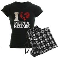 Hunger Games I heart Peeta Pajamas by clonecire