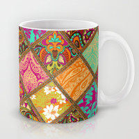 Patchwork Paisley Mug by Aimee St Hill