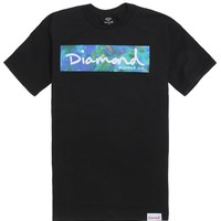 Diamond Supply Co Gradient Bar Script T-Shirt - Mens Tee