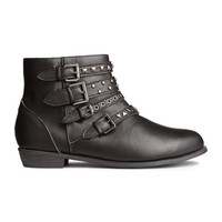 Boots with Studs - from H&M
