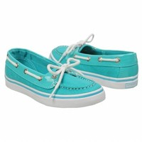 Sperry Top-Sider Kids' Biscayne Shoes (Turquoise Sparkle)