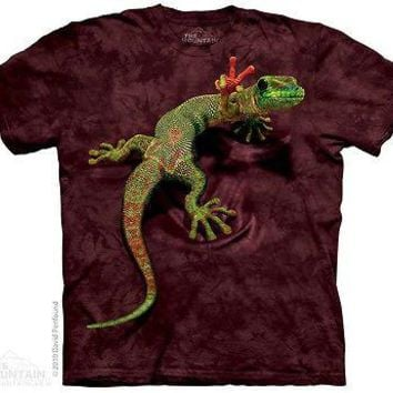 The Mountain Peace Out Gecko Lizard YOUTH KIDS T-Shirt