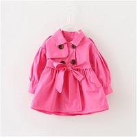 Winter Jackets Girls Warm Hooded Baby Girl Jackets Coats Thick Cotton Infant Kids Coat Toddler Girls Outerwear Children Clothes