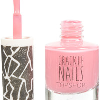 Crackle Topcoat in Sweetheart - Nails - Make Up - Topshop