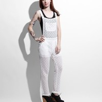 Crockette Crocheted Overalls