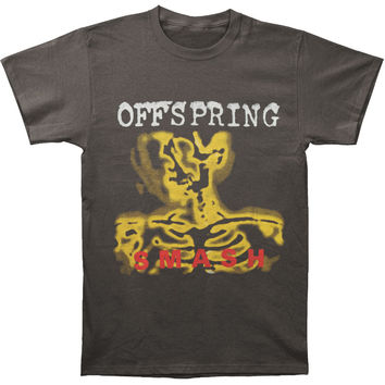 Offspring Men's  Smash T-shirt Charcoal Rockabilia