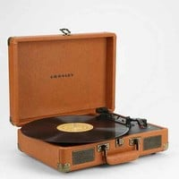 Crosley X UO Cruiser Briefcase Portable Vinyl Record Player- Tan One