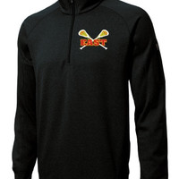 Williamsville East Womens Lacrosse Unisex Sport-Tek® Mens Tech Fleece 1/4-Zip Pullover