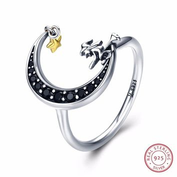 Moon&Star · Magic Witch Black Ring
